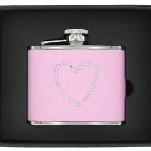 Artamis Girls Hipflask Pink 4oz